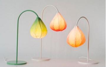 材料的材型对灯具形态设计的影响