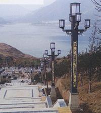 雅安市汉源县公园景观灯